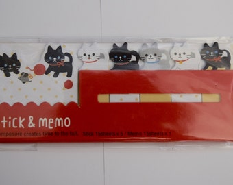 Cat Post-it Notes and Memo Pad.