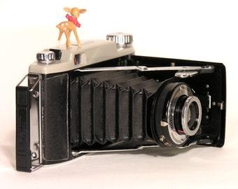 KODAK Modèle 11 Camera -  French Vintage Folding Camera - Mid Century Camera - Retro Camera Collection - Vintage Industrial Decor