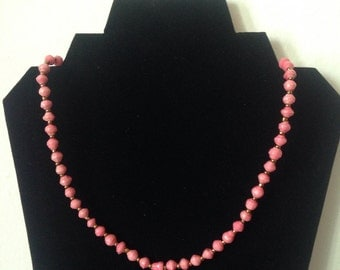 Paper beads Necklace, #306. Single strand. Handmade with love. #paperbeadjewelryrocks #perfectgift