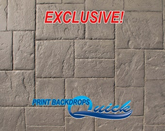Dark Stone Floor - EXCLUSIVE - Vinyl Photography Backdrops