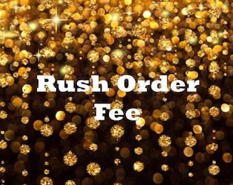 Rush Order Fee - Up to 5 Items - Rush Fee