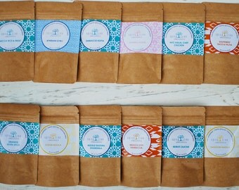 Spice Tree Organics Global Spices Set - Sampler Pack - great gift!