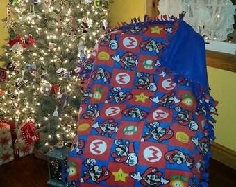 Super Mario blanket