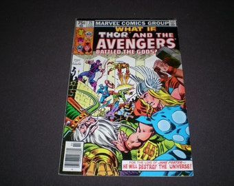 What If 25, (1981) Thor and the Avengers Battled The Gods?, Marvel Comics TW