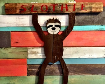 SLOTHIE the Wood Sloth