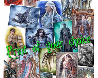 Print of your choice, custom-made, signed print