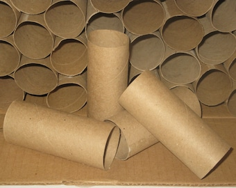 Cardboard Tubes - Toilet Tissue Rolls - Paper Towel Rolls - DIY Projects - Recycled Tubes - Craft Supply - Upcycle Art Supply - Empty Rolls