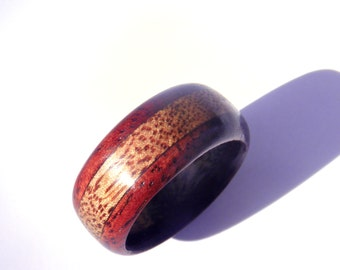 Wood Wedding Band Wooden Ringsmen Ringwood Ring