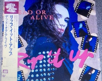 RARE Dead or Alive 1987 Laserdisc