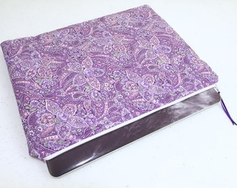 Purple Paisley 13 inch Macbook/Macbook Pro, Laptop Sleeve