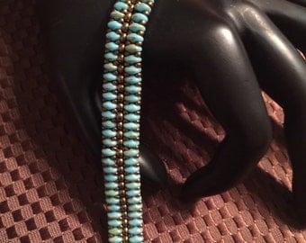 SuperDuo Beaded Bracelet