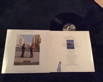 Pink Floyd - Wish You Were Here - 1975 Vinyl Record LP