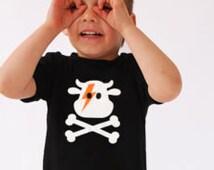 Ziggy Cow & Crossbones Cool Kids T-Shirt