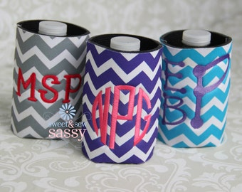 Personlized Can Cooler - Monogram
