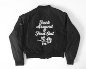 Creature of Habit - Find out Bomber jacket