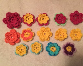 Exchangeable Flower(s) for G-ma's Hats!