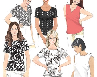 Simplicity Sewing Pattern 8061 Misses' Top