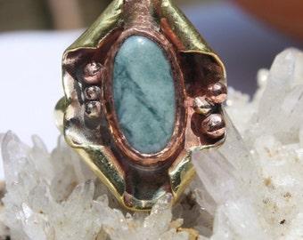 Guatemala Jade Manzana Ring