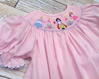Disney Princess Smocked Dress