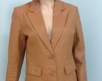 "80's Blazers,Size 10,Leather Jacket,""Bagatelle"""