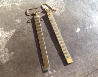 Recycled Circuit Board Earrings