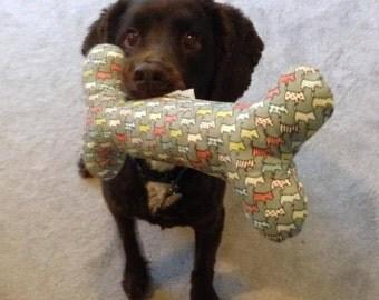 Dog Days Squeaky Dog Bone