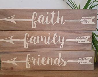Faith Family Friends Etsy