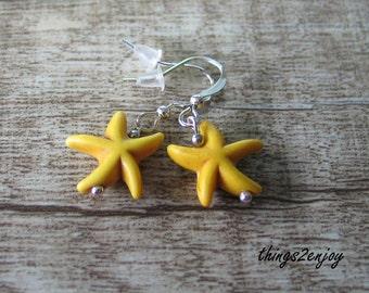 "Ear hanger ""starfish"""
