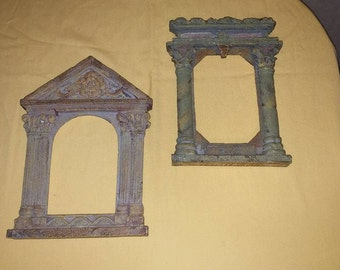 Decorative Greek Architectural Doorways