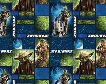 Star Wars Realistic Characters Cotton Woven Fabric