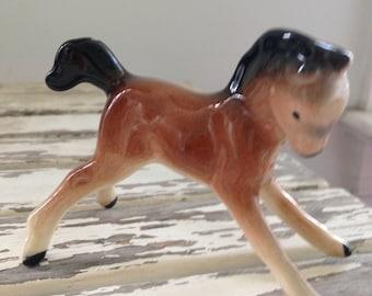 Ceramic Pony Figurine