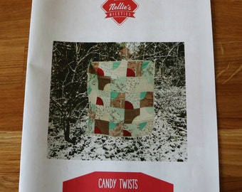 Candy Twists quilt pattern by Reene Witchard