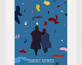 laurence anyways postcard 4'X6'