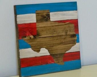 Rustic Texas Pallet Wall Art, Texas Decor, Texas Wall Art, Texas Wall Art, Texas Pallet Decor, Texas Decor, Wood Wall Art