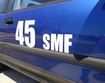 Magnetic Numbers for Track days and Autocross