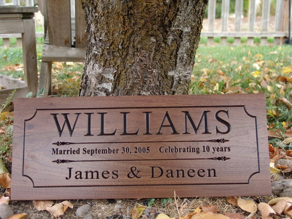 Items similar to Custom home decor signs Carved Wood Signs