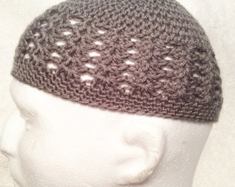 Crochet Kufi, Men & Boy's Kufi, Mens Beanie, Knitted Kufi, Kufi for Children, Kufi for Men, Crocheted Beanie, Knit Beanie,