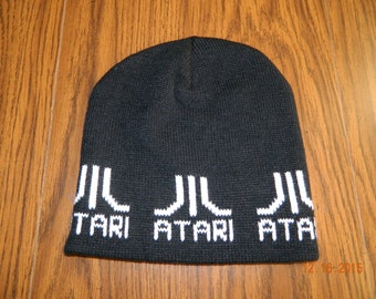 NWT-Offically Licensed Atari Logos Beanie /one size fits all