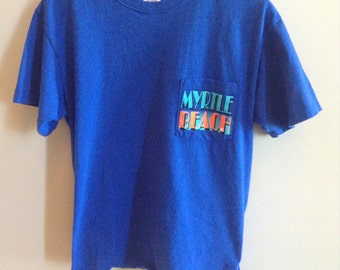 Vintage Myrtle Beach tourist shirt