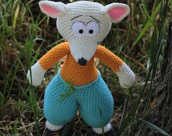 Crochet Pattern Mouse - Bernie - Crochet Mouse- Stuffed Mouse - Amigurumi
