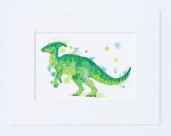 Green Dinosaur Wall Art - Kids Dinosaur Art Baby Boy Nursery Art Mandala Prints Dinosaur Prints Wall Decor Boys Room Decor - Dinosaur Gifts