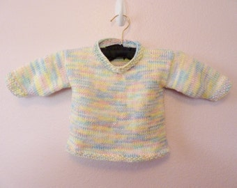Baby Rainbow Pullover size 3 - 6 months