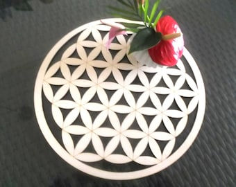 Flower of life, wood (1182)
