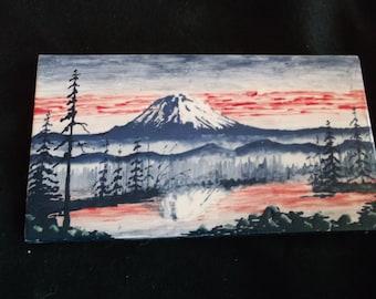 Mount Rainer sunset