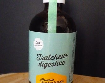Digestive fresh - floral beverage