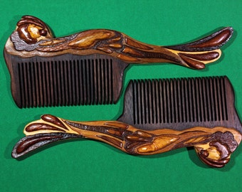 Models of wooden combs to order