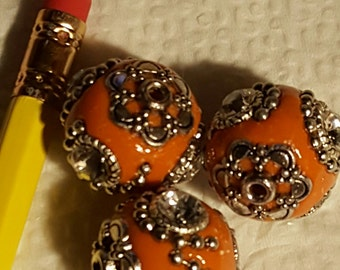 Fancy Indonesian Decorative Beads