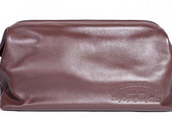 Luxury Leather WashBag