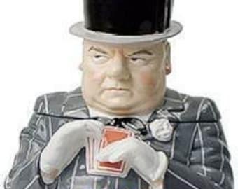 W.C. Fields cookie jar
