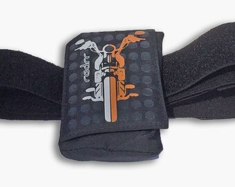 Insulin Pump Case Motorcycle Design + Belt